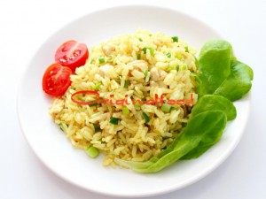 Ароматный рис с курицей