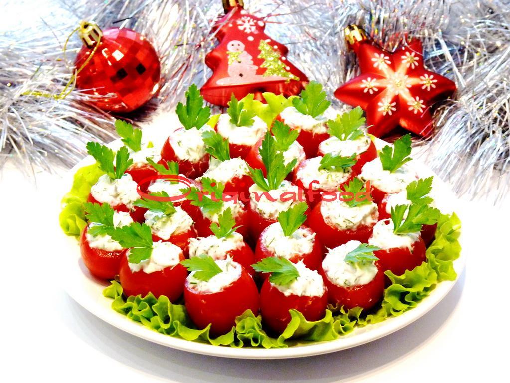 Закуски с помидорами - рецепты с фото 95