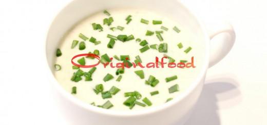 Сливочный суп-пюре из цветной капусты с грибами