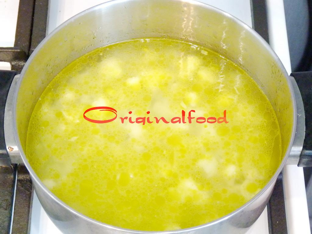 рецепт сырного супа с куриной филе