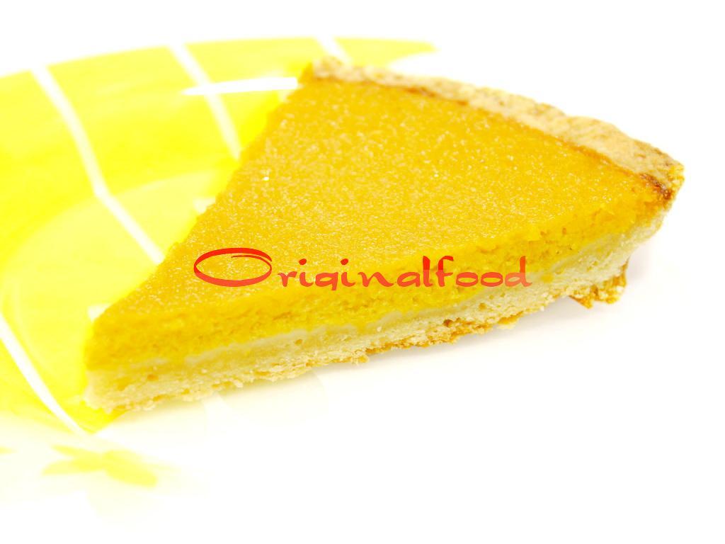 Тыквенный пирог с корицей и медом
