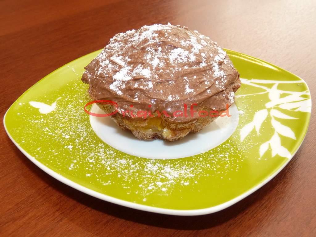 Абрикосовые маффины с шоколадом