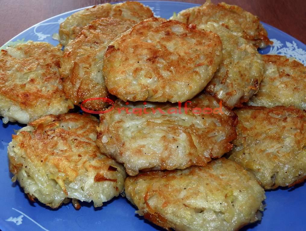 картофельно кабачковые драники в духовке рецепт