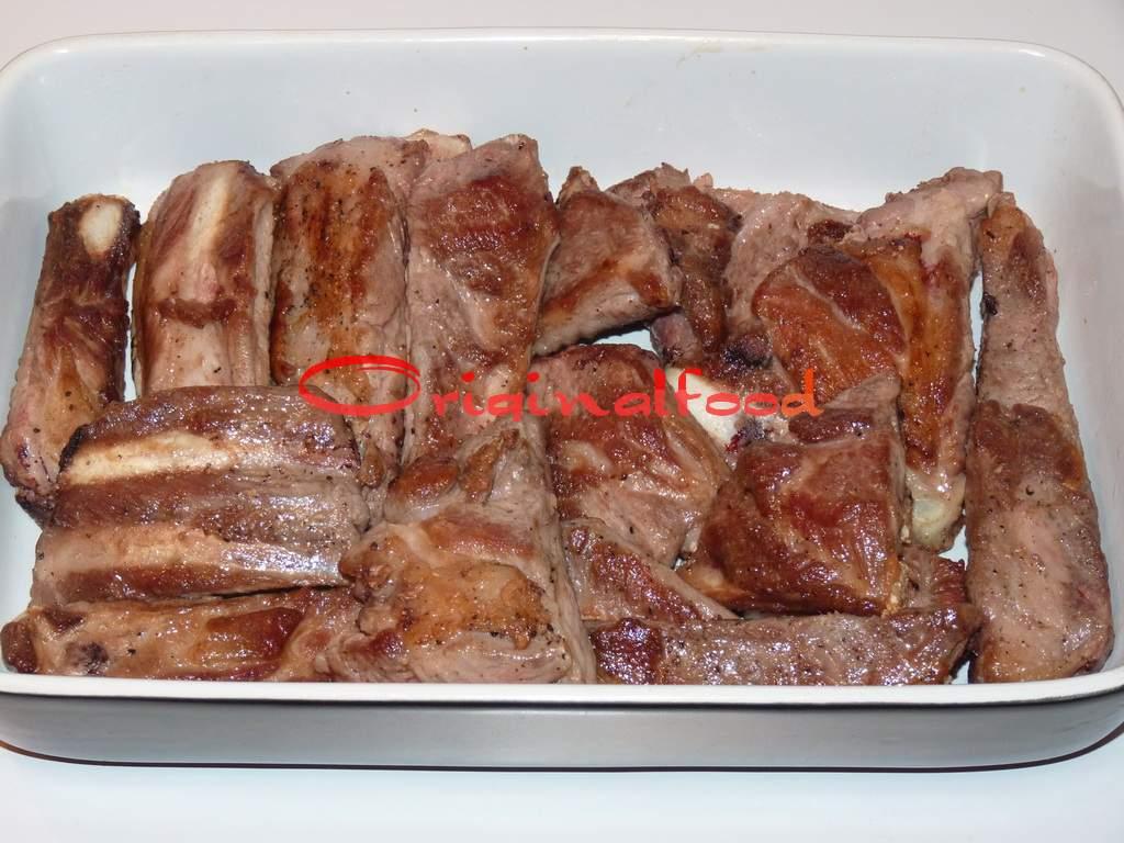 рецепт ребрышек в духовке фото пошагово