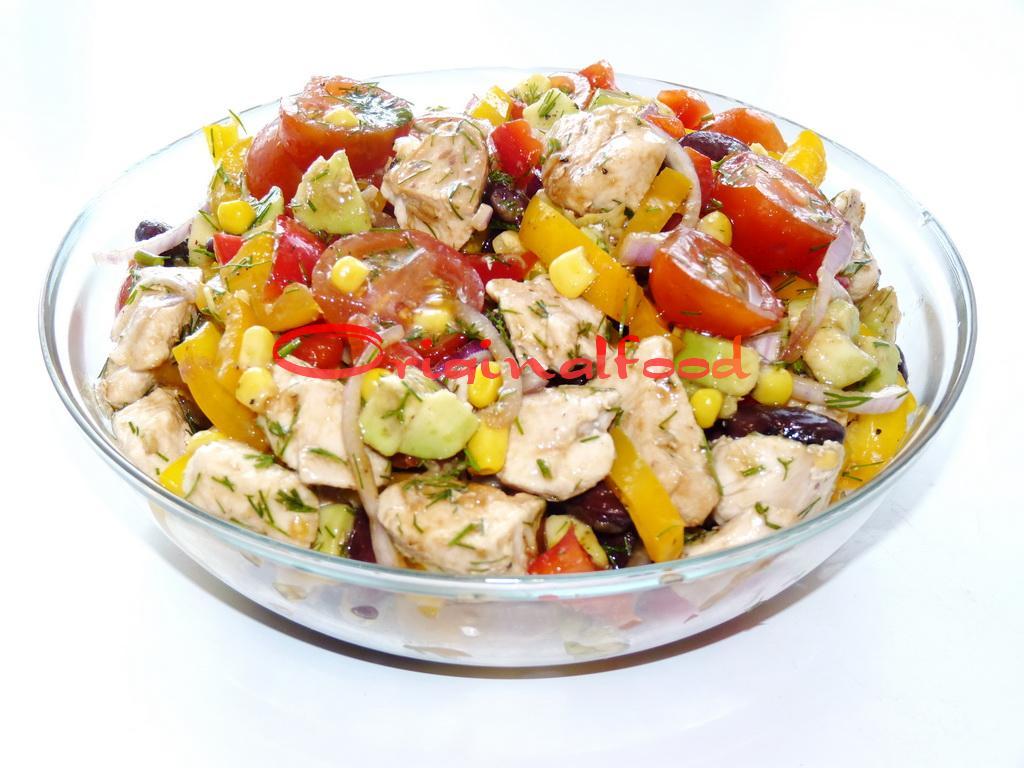Рецепты мексиканских салатов с фото