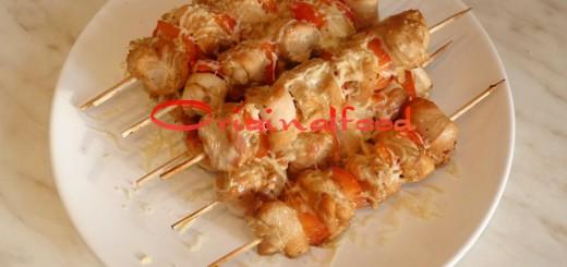 Шашлычки из куриного филе с болгарским перцем