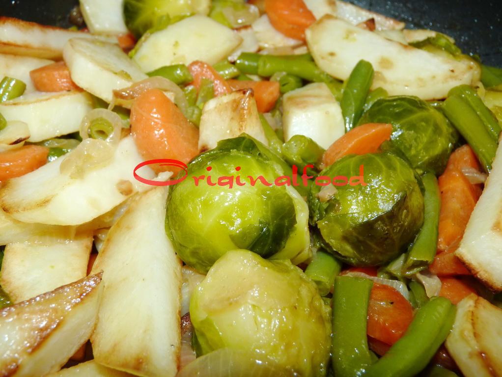Жареные овощи. Гарнир