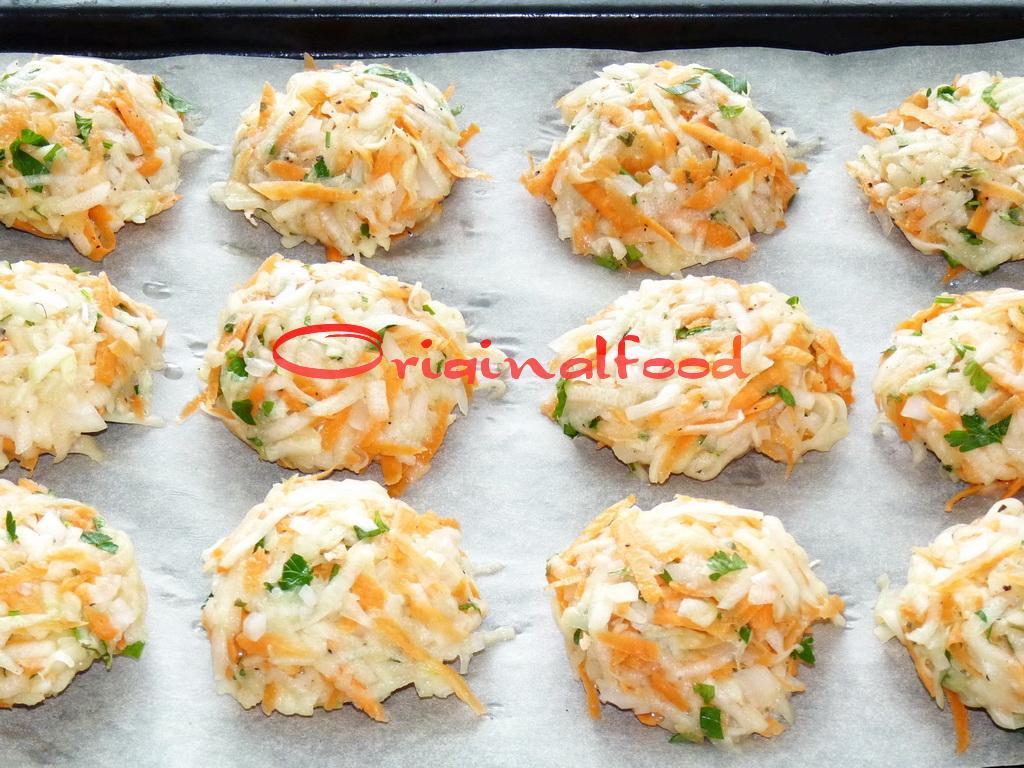 Рецепт котлеты из кабачков с сыром