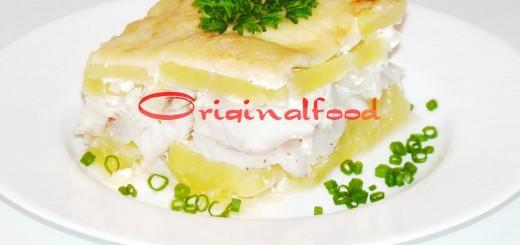 Рыба с картофелем запеченные в духовке