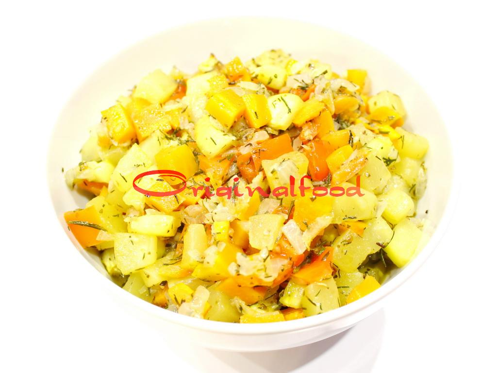 Ароматные овощи запеченные в духовке