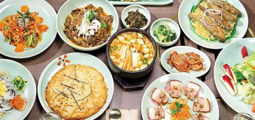 Корейская кухня - кимчи, тток и рис