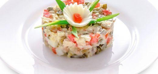 Способы украсить салат